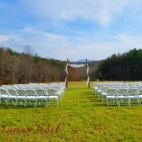 Outdoor november wedding